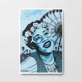 Coachella Fitzgerald Metal Print