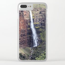 Waipoo Falls Clear iPhone Case