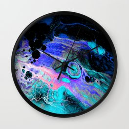 Heavens Curtsy and Bow Wall Clock