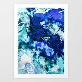Liquid Abstract Art Print
