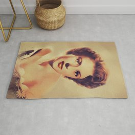 Mala Powers, Vintage Actress Rug