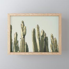 Desert Cactus 2 Framed Mini Art Print