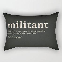 Militant Rectangular Pillow