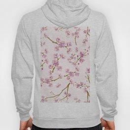 Spring Flowers - Pink Cherry Blossom Pattern Hoody