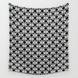 Quadrille - Black & White Wall Tapestry