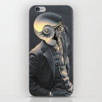 marine iPhone & iPod Skins featuring MARINE by Julia Lillard Art