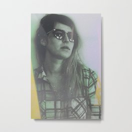 Color Ditch Metal Print