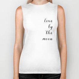 Love By The Moon Biker Tank