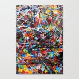 Abstract Street Art Canvas Print