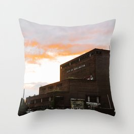 City of Burlington Throw Pillow