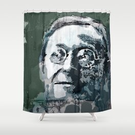 STEPS - quote Shower Curtain