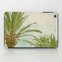 palm trees iPad Cases featuring Palm Trees by Cassia Beck