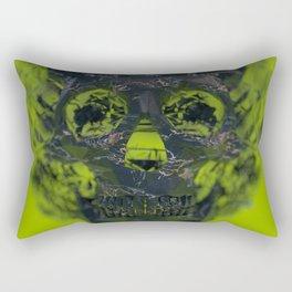 Skull Explotion Rectangular Pillow