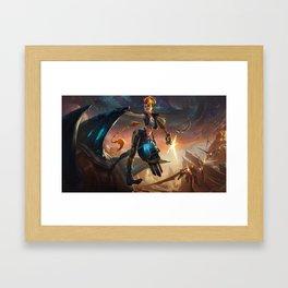 Odyssey Jinx League Of Legends Framed Art Print