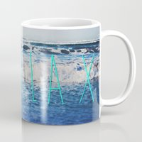 relax Mugs featuring Relax by Leah Flores