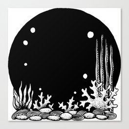 Deepsea Canvas Print