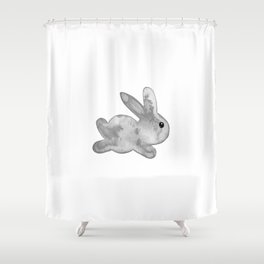 Little Bunny No. 1l by kathy Morton Stanion Shower Curtain
