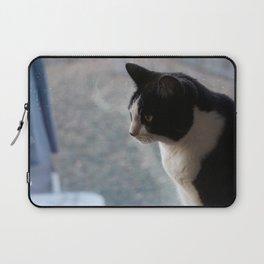 Soft Portrait of Cat Laptop Sleeve