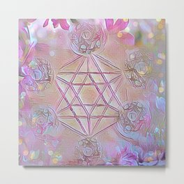 Merkaba Dreams Metal Print