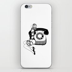 Waiting for your call iPhone & iPod Skin