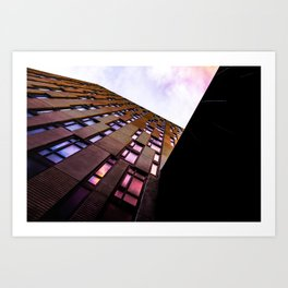 Checked Out Art Print
