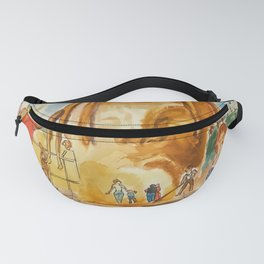 """""""Astroworld"""" by Mauri Fanny Pack"""