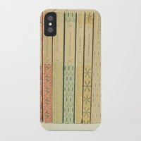 bath iPhone & iPod Cases featuring Old Books by Cassia Beck