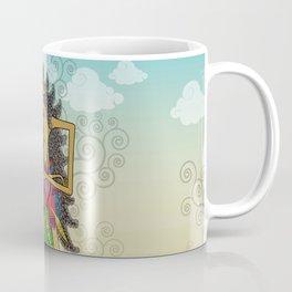 Wayang Arjuna Coffee Mug