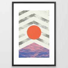 Vojaĝo Framed Art Print