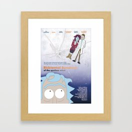 Rickternal Sunshine of the Spotless Mind Framed Art Print