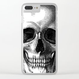 Head Skull Clear iPhone Case