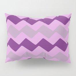 Purple Zig Zag Pattern Pillow Sham