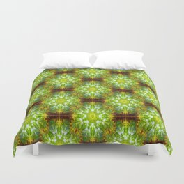 Stars in my garden.... Duvet Cover