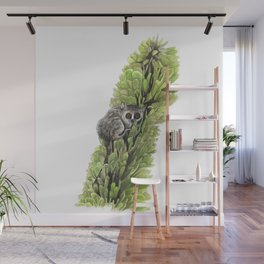 Mouse Lemur in the Spiny Forest Wall Mural