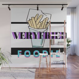 Verified foodie Wall Mural
