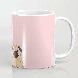 Pink Pugs Coffee Mug