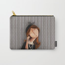 Mme Noir Carry-All Pouch