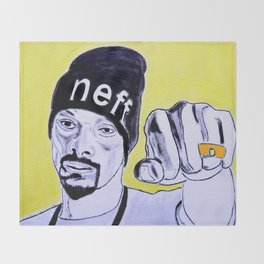 Snoop Dog Throw Blanket