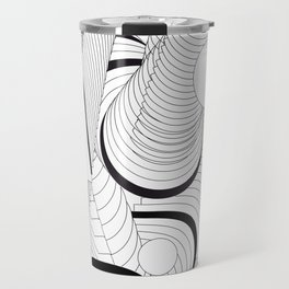 History of Art in Black and White. Postmodern Travel Mug