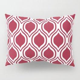 Crimson and white Alabama pattern university of alabama crimson tide college Pillow Sham