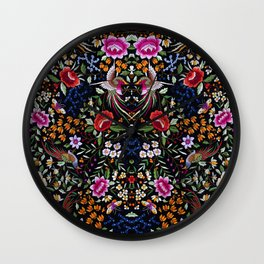 Manton, Spanish flamenco shawl detail Wall Clock
