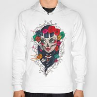 mexican Hoodies featuring Mexican SK by LucreziaU's Illustration