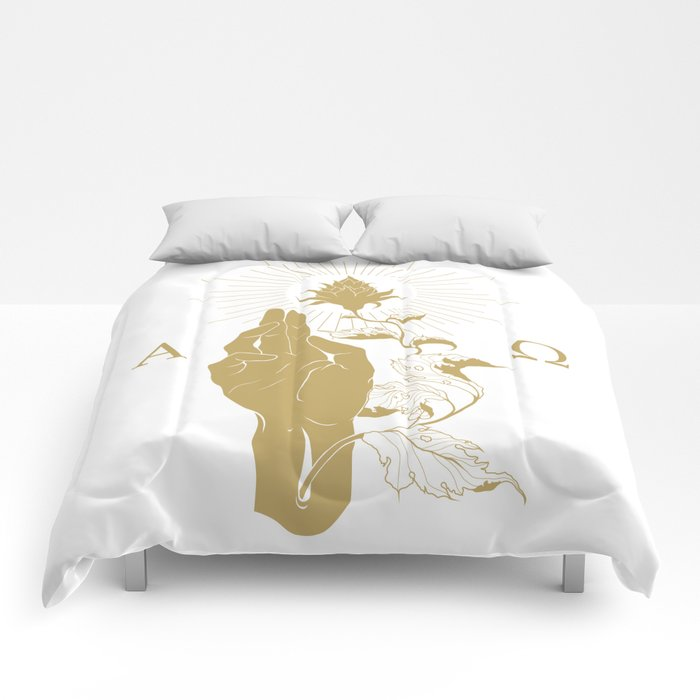 Alpha and Omega Comforters