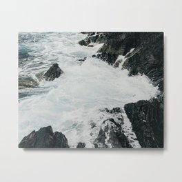 Ocean, Almafi Coast Metal Print