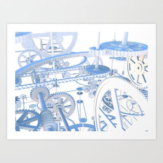 The Dream Machine Art Print