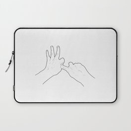 Fucking Gesture Laptop Sleeve