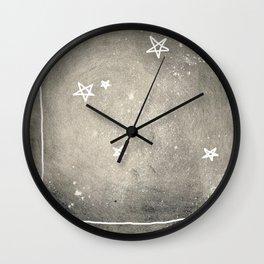 penrose stars Wall Clock