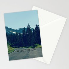 Go Explore the World Stationery Cards