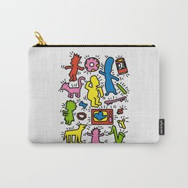 Keith Haring & Simpsons Carry-All Pouch