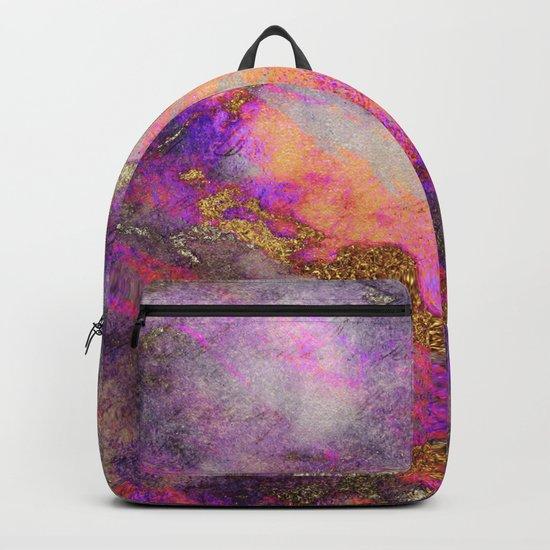 Purple wall Backpack